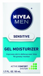 Beiersdorf Nivea Sensitive Gel Moisturizer for Men, 1.7 Ounce